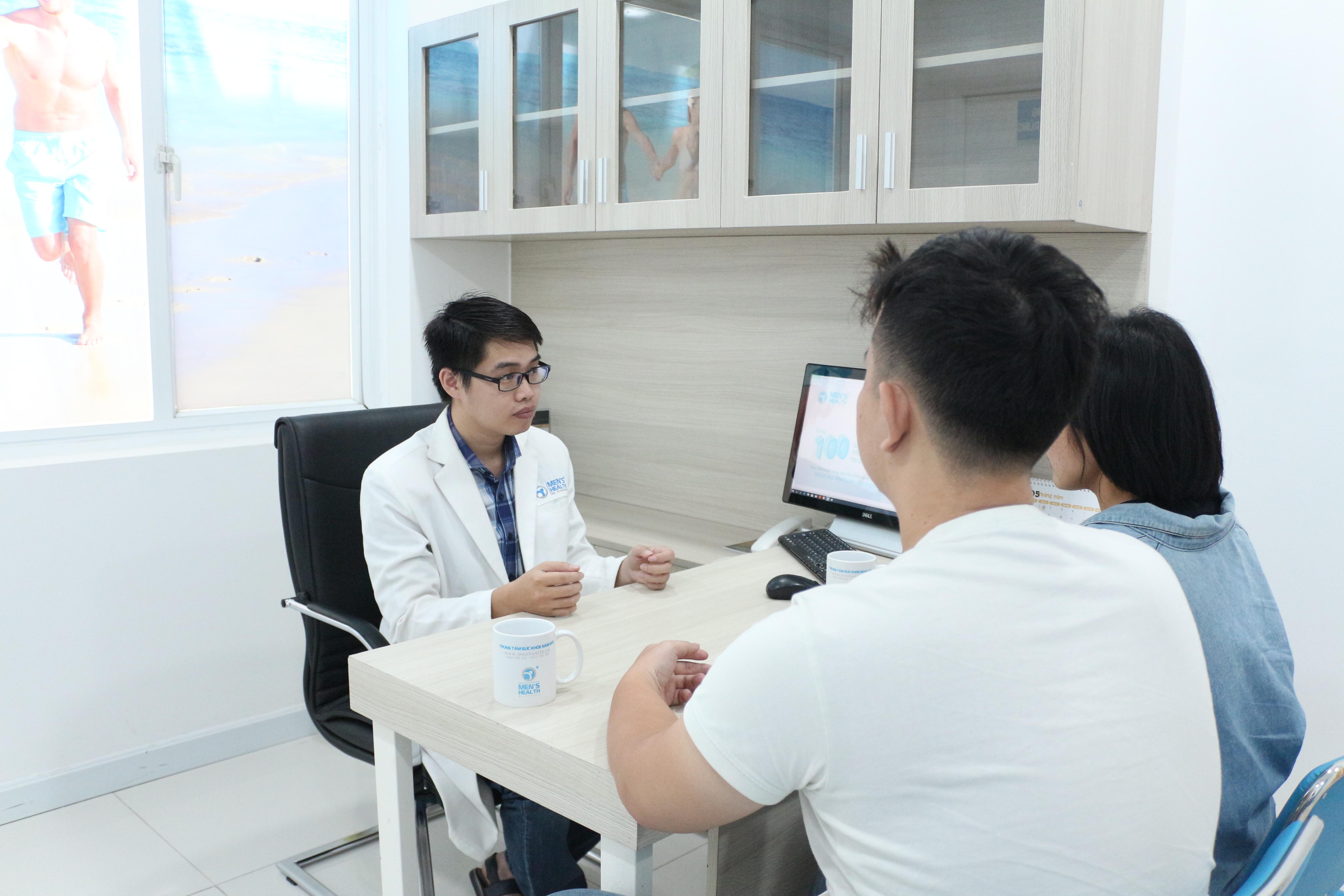 rối loạn xuất tinh ở nam giới là dấu hiệu của các bệnh như: xuất tinh sớm, xuất tinh muộn và xuất tinh ngược dòng