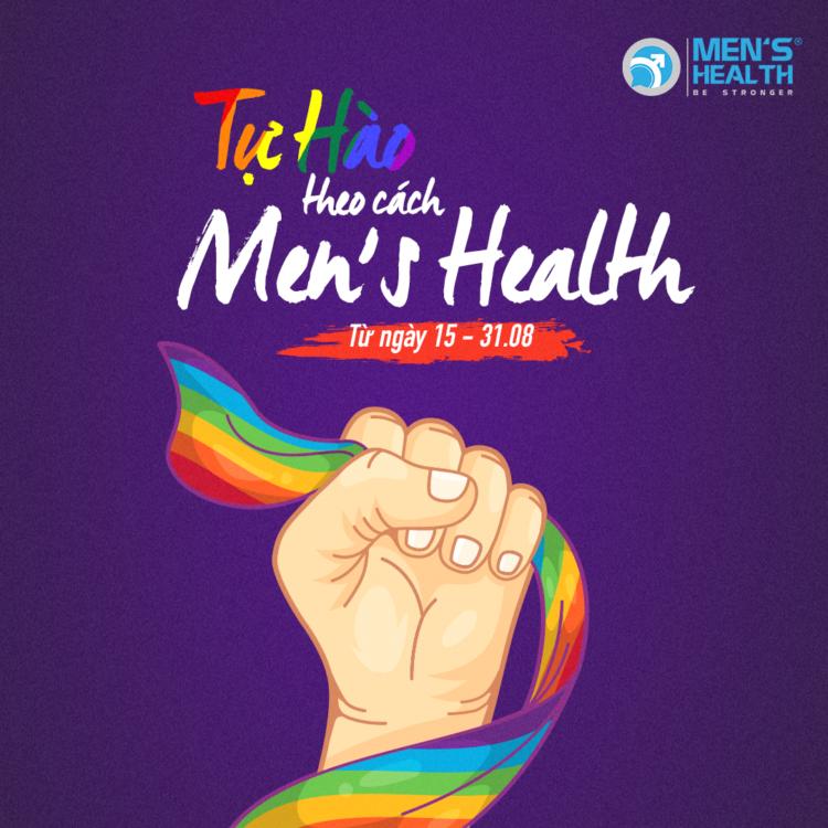 PRIDE THEO CÁCH MEN'S HEALTH – ƯU ĐÃI THÁNG 8 DÀNH CHO HỘI LỤC SẮC